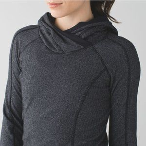 Like New Lululemon Think Fast Herringbone Hoodie 2